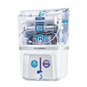 The KENT Grand+ 9-litres Wall-Mountable RO + UV + UF + TDS Controller