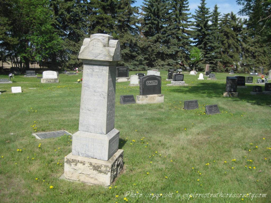 Clover Bar Cemetery Sherwood Park