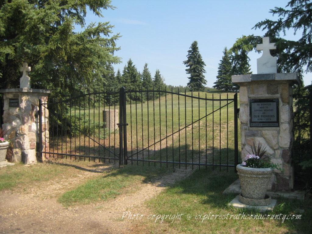 Fairmount Cemetery Ardrossan Alberta Strathcona County