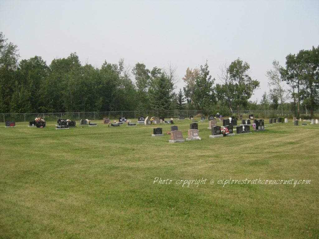 St Johns Lutheran Church Cemetery Ardrossan Alberta