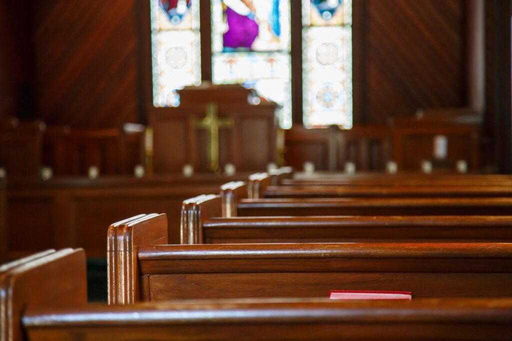 church pew strathcona county