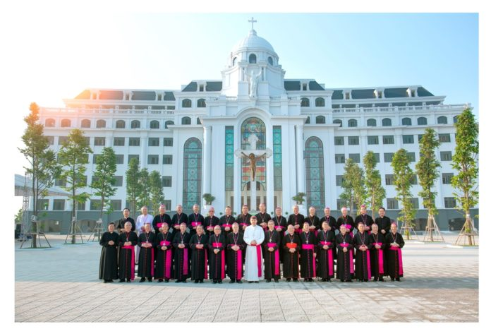 Kết quả hình ảnh cho hội đồng giám mục việt nam 2019