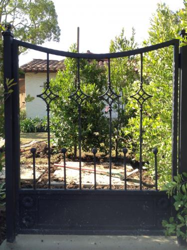 Wrought Iron Pedestrian Gates13