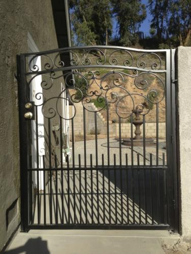 Wrought Iron Pedestrian Gates16