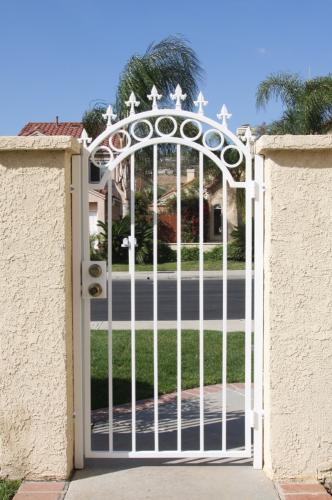 Wrought Iron Pedestrian Gates22