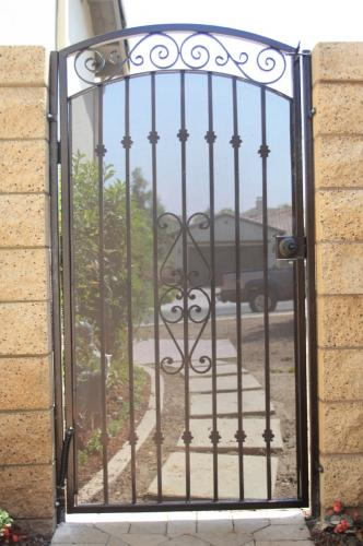 Wrought Iron Pedestrian Gates27
