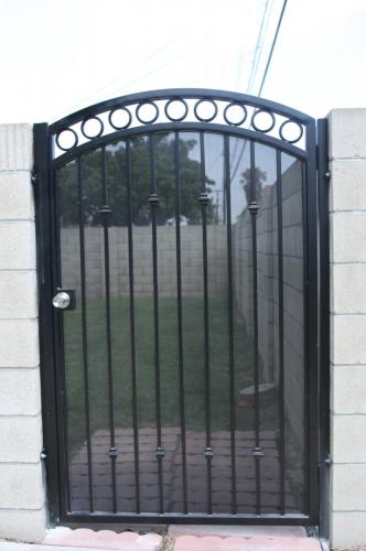 Wrought Iron Pedestrian Gates28