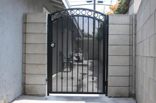 Wrought Iron Pedestrian Gates30