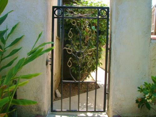 Wrought Iron Pedestrian Gates31