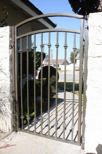 Wrought Iron Pedestrian Gates42