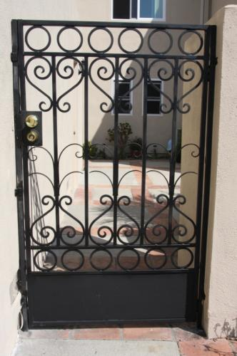 Wrought Iron Pedestrian Gates43