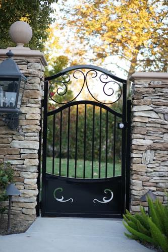 Wrought Iron Pedestrian Gates45