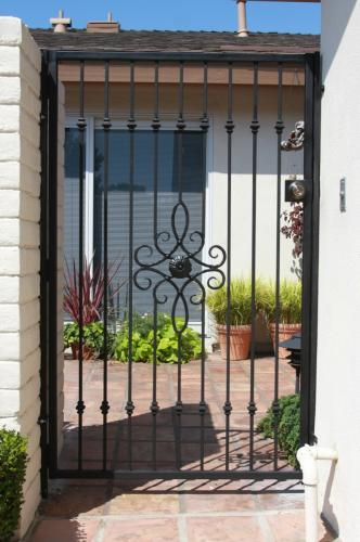 Wrought Iron Pedestrian Gates7
