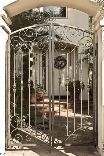Wrought Iron Pedestrian Gates8