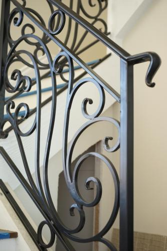 schuvega ironworks staircase railing wrought Iron ornamentle 2