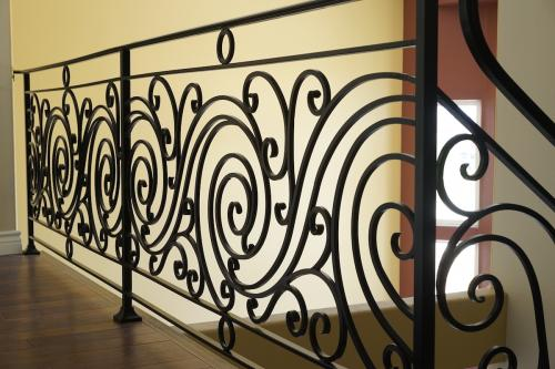 schuvega ironworks staircase railing wrought Iron ornamentle 5