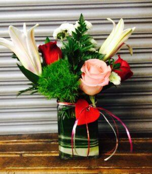 Just Priceless Organic Surprise Floral Arrangement
