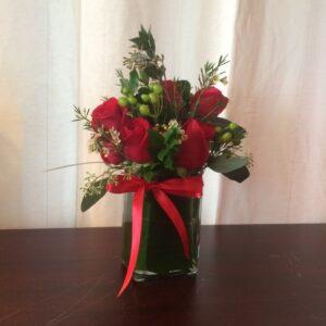 Just Priceless Half Dozen Roses
