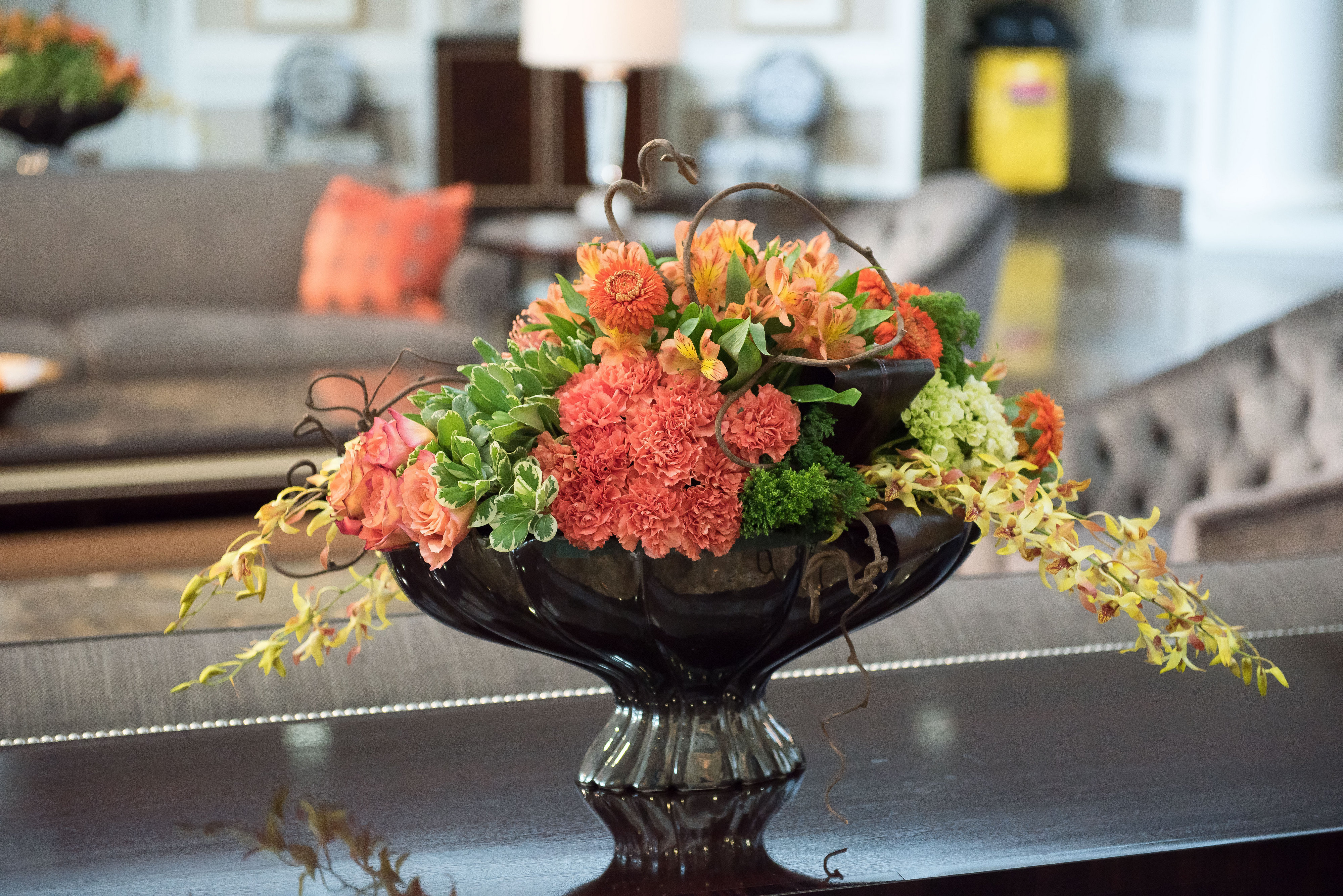 High Point Market Showroom Arrangements by Just Priceless