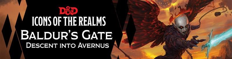 D&D Icons of the Realms: Baldur's Gate: Descent into Avernus announced by WizKids