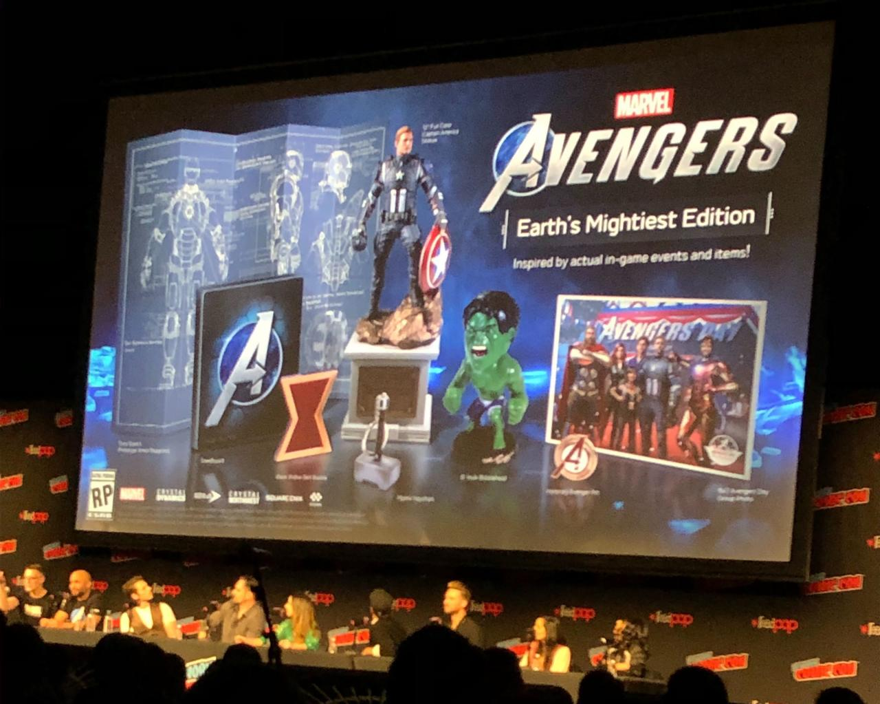 """Collector's Edition for Marvel's Avengers """"Earth's Mightiest"""" Announced at NYCC"""