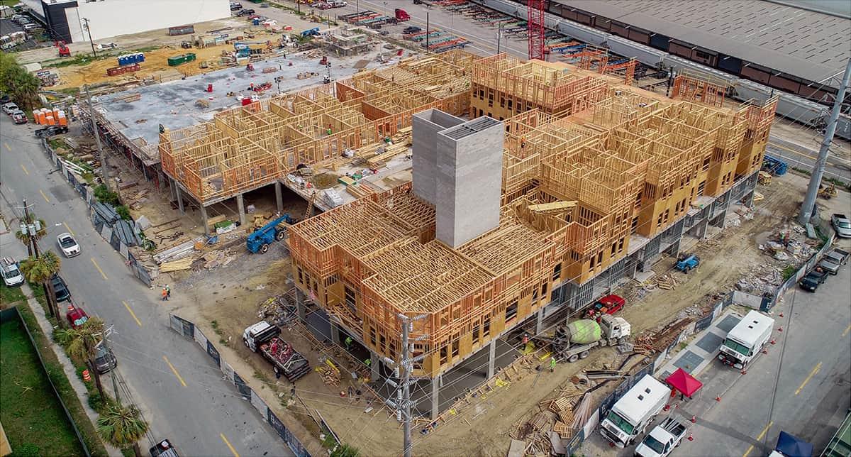 Shamrock Drones - High-rise Progress