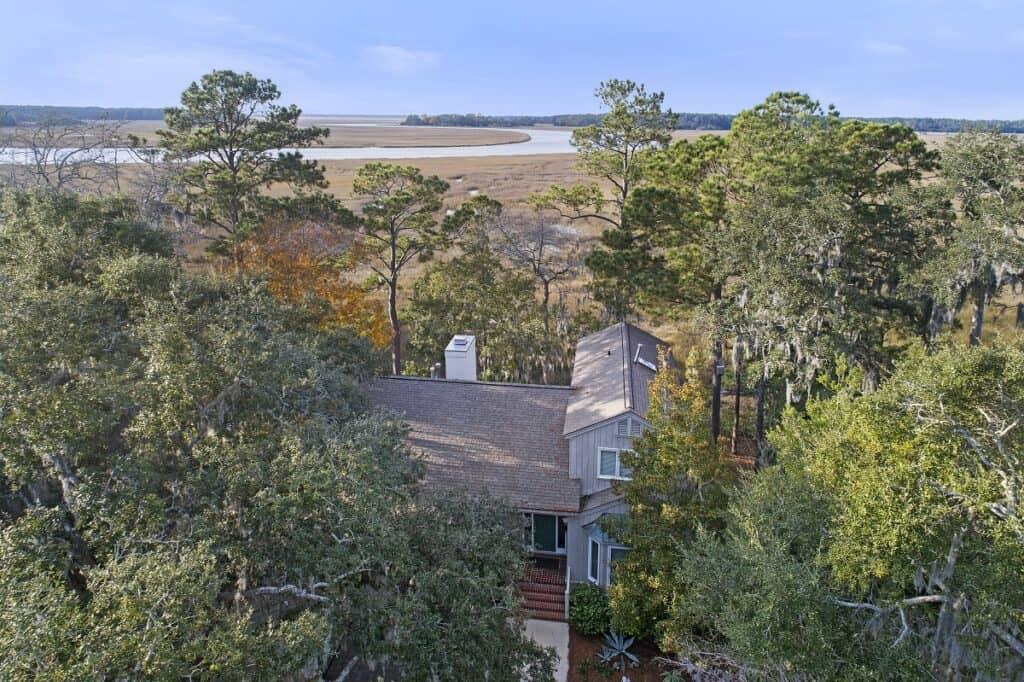 Shamrock Drones - Residence on the Marsh - Aerial 09