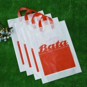 Soft Loop Handle Plastic Shopping Bags