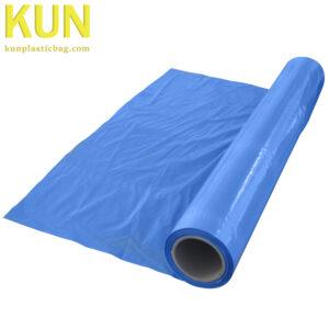 Large Blue Plastic Rolls