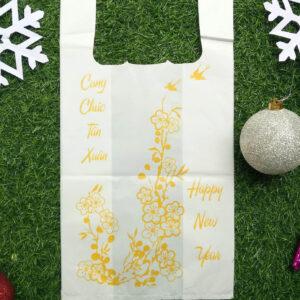 LDPE/HDPE/MDPE/LLDPE Plastic T-Shirt Bags