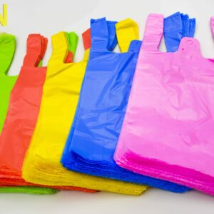 Colored T-shirt Bags