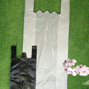 Large Size Clear Plastic T-Shirt Bags