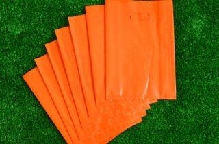 Fold Over Die Cut Bag