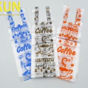 Clear Plastic Coffee Tea Cup Bags