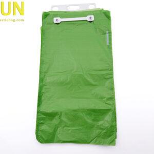 Block header plastic bags