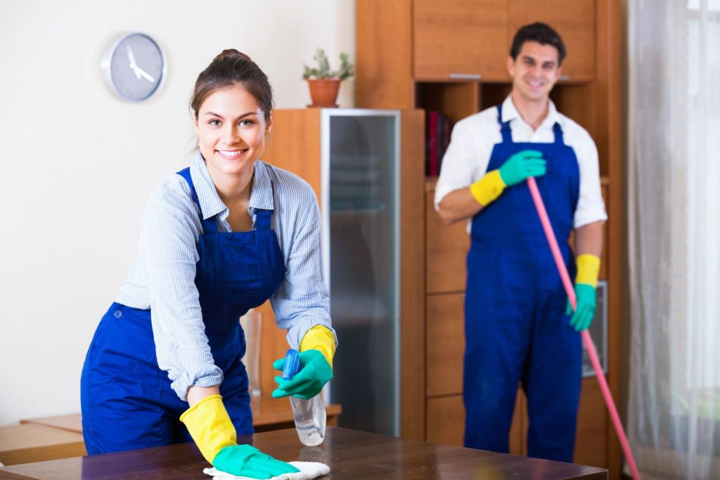 GroupVenture Inc Janitorial services