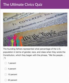 Ultimate Civics Quiz