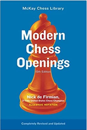 Book cover: Modern Chess Openings