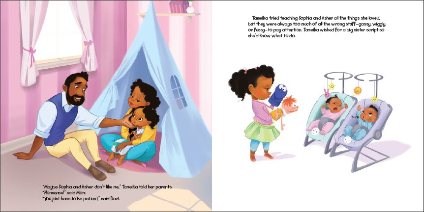 Interior spread from BETTER TOGETHER CINDERELLA.