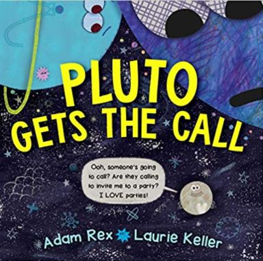 Cover of the picture book Pluto Gets the Call
