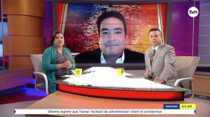 Carlos Berguido, Entrevista TVN
