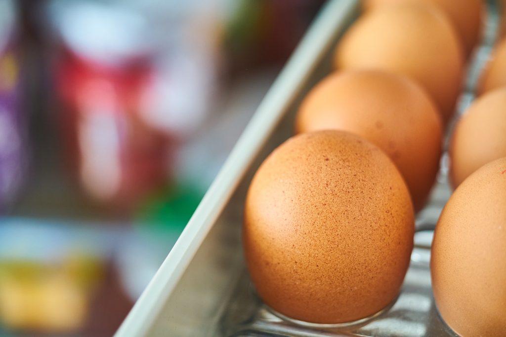 Organized Fridge - Eggs
