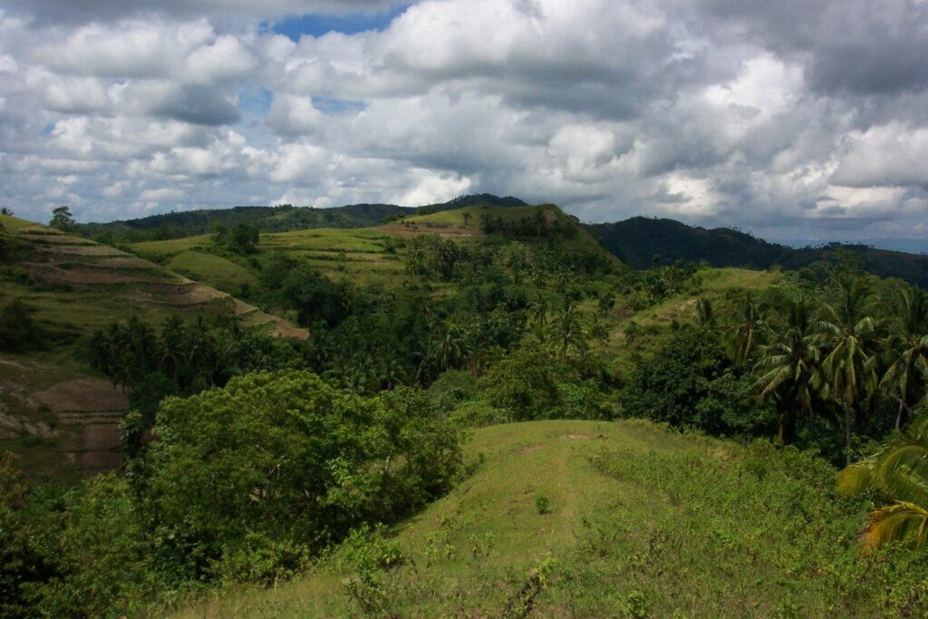 Agroforestry landscape in Baryong Daan, the Philippines (Photo: ICRAF)