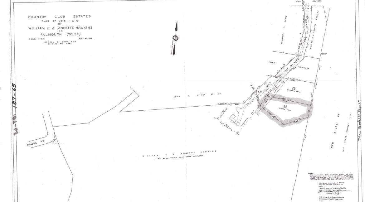 Recorded Plan of Right of Way
