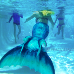 mermaid performer professional certified safe for kid entertainment