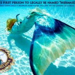 """First mermaid to legally change name to """"Mermaid"""""""