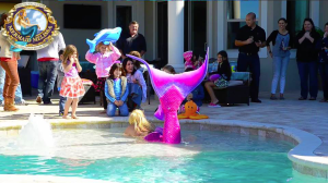 mermaid melissa pool party events