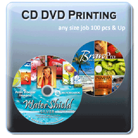 CD and DVD Disc Printing