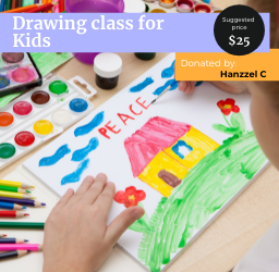 Drawing class for kids and teens