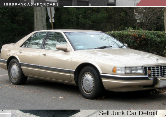 sell junk car Detroit
